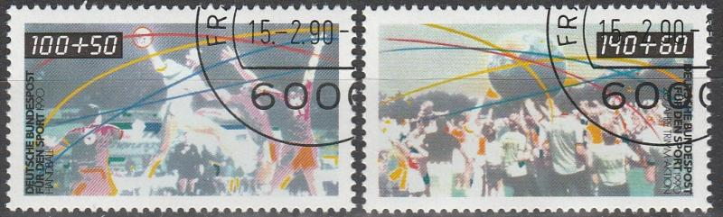 Germany #B687-8 F-VF Used  CV $5.50 (C4002)