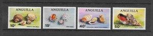 SHELLS - ANGUILLA #74-7  MNH