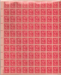 US 822 - 17¢ Andrew Johnson Unused