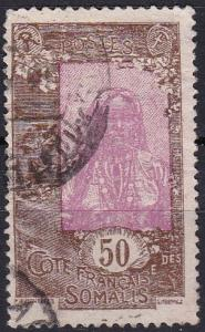 1925 French Somali Coast Scott 103 Somali Coast used
