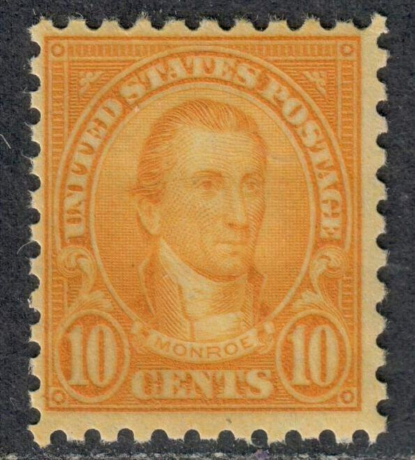 $US Sc#591 M/NH/F, perf 10, Cv. $85