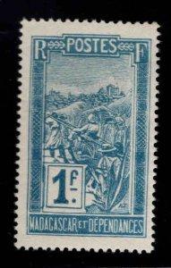 Madagascar Scott 110 MH* stamp