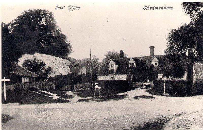 MEDMENHAM POST OFFICE - OFFICIAL PO PHOTOGRAPH Buckinghamshire