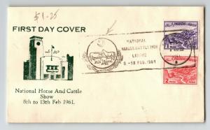 Pakistan 1961 National Horse & Cattle Show Cover / FDC? - Z13326