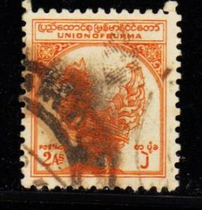 Burma - #106 Mythical Bird - Used
