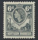 Northern Rhodesia  SG 68  SC# 68 MLH  see detail and scan