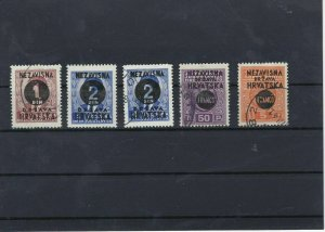 Croatia 1941 MNH+Used Stamps Ref: R6726