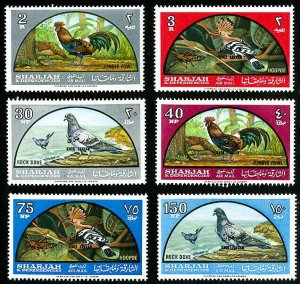 Sharjah Stamps # C28-33 MNH XF