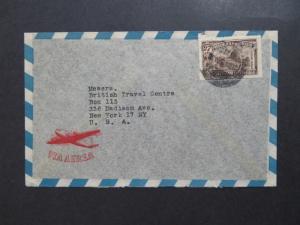 Uruguay 1950s Airmail Cover to USA - Z8132