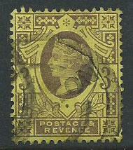 Great Britain QV SG 198