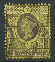 Great Britain QV SG 198
