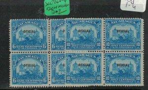 Nicaragua SC O268-9 Block of 4 MNG (1exj)