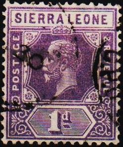 Sierra Leone. 1912 1d S.G.132a Fine Used