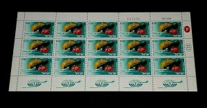 1968, ISRAEL #C42,  AIRMAIL, EXPORT ISSUE, 0.55, SHEET/ 15 , MNH, NICE! LQQK!