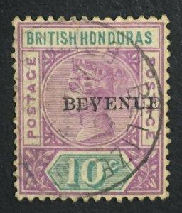 MOMEN: HONDURAS SG #67a BEVENUE 1899 USED LOT #61255