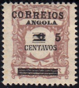Angola Scott 306 Unused  hinged.