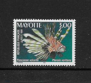 FISH - MAYOTTE #122  MNH