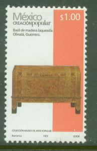MEXICO 2489a, $1.00P HANDCRAFTS 2006 ISSUE. MINT, NH. F-VF.