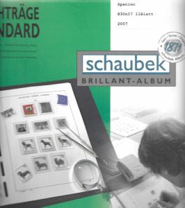 Schaubek Spain Standard Supplement 2007