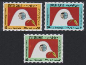 Kuwait Birds Dove Solidarity with Palestine 3v 1983 MNH SC#930-932 SG#1018-1020