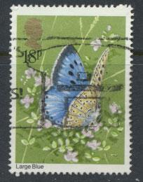 Great Britain SG 1152 - Used - Butterflies