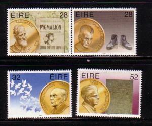 Ireland Sc 944-7 1994 Nobel Prize Winners stamp set mint NH