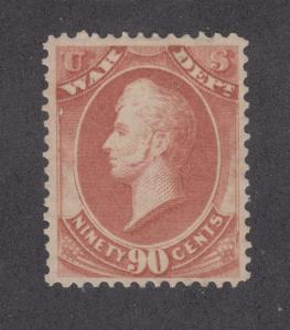 US Sc O93 MLH. 1873 90c Commodore Perry, War Department Official F-VF