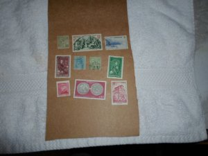 MONACO STAMPS LOT. 10 STAMPS # 3