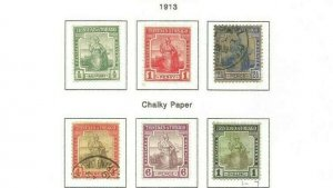 TRINIDAD AND TOBAGO SCOTT 1-7 MH/USED