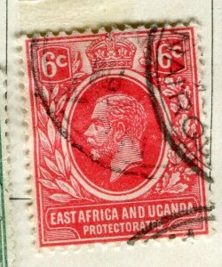 BRITISH KUT; 1912 early GV issue fine used 6c. value