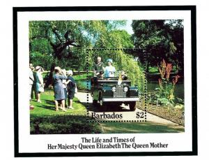 Barbados 664 MNH 1985 Queen Mother Birthday S/S