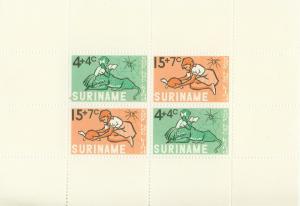 SURINAM/SURINAME 1965 MNH SC.B118/118a Child Walfare