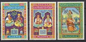Algeria Sc #341-343 MNH