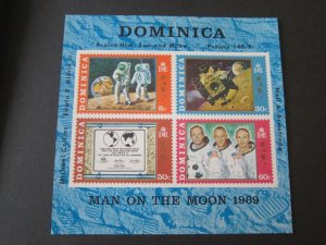 Dominican 1970 Sc 296a space set MNH