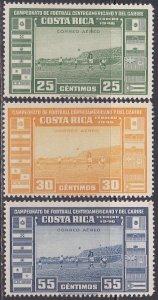 Costa Rica Sc #C121-C123 MNH