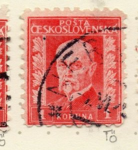 Czechoslovakia 1926-27 Issue Fine Used 1k. NW-148586