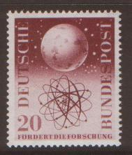 GERMANY 1955 Cosmic Research SG1140 um/NHM cat $12