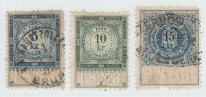 Austria Cinderella Revenue Fiscal stamp 9-19-21 as seen- 4e
