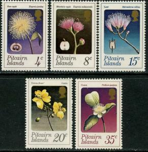 PITCAIRN IS. Sc#130-134 1973 Flowers Mint OG LH Complete
