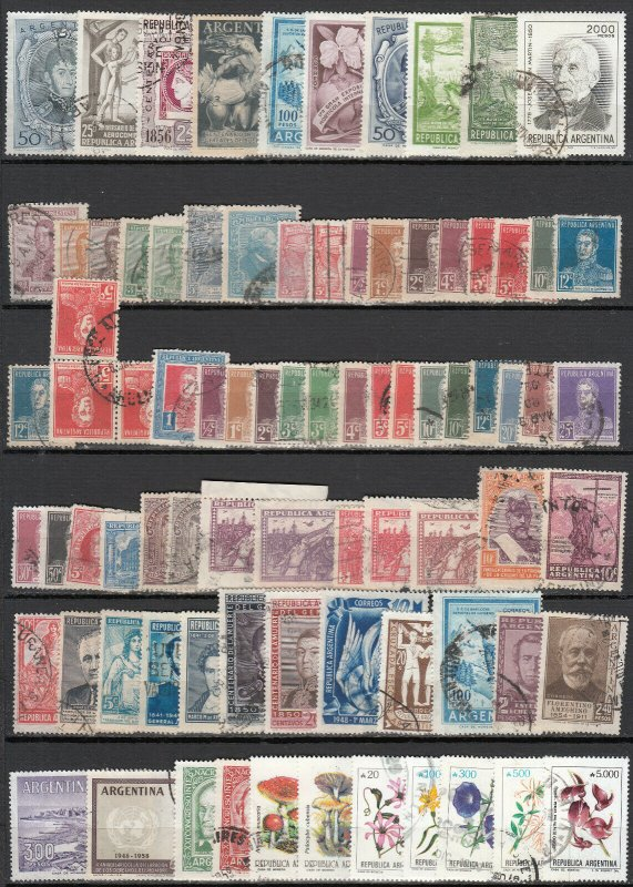 Argentina - small stamp lot