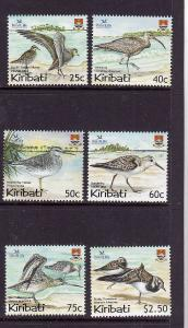 Kiribati-Sc#843-8-Unused NH set-Birds-Birdlife International-2004-