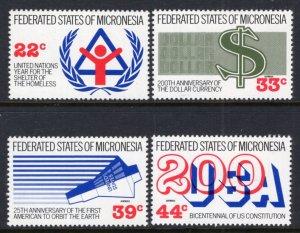 Micronesia 56,C28-C39 MNH VF