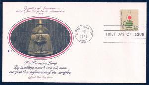 UNITED STATES FDC $2 Kerosene Lamp 1978 Fleetwood