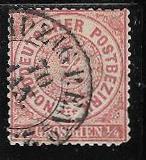 Germany - North German Confederation 13 used 2013 SCV $16.00  -  5073