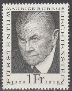 Liechtenstein #450  MNH  (S9386)
