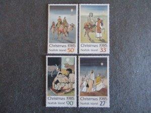 Norfolk Island #373-76 Mint Never Hinged- (4DC) WDWPhilatelic
