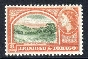 TRINIDAD  AND TOBAGO  --  1953-59   sg 273  8 cents  mnh um