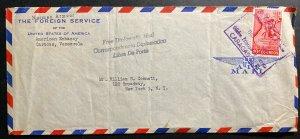 1960 Caracas Venezuela American Embassy Diplomatic Cover To New York USA