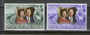 British Indian Ocean Territory 48-49 MNH