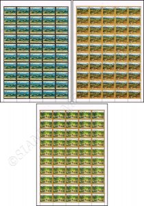 73rd Anniversary of Independence Day -SHEET (II)- (MNH)